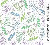 floral background  floral... | Shutterstock .eps vector #1071034322