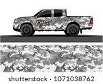 modern camouflage design for...   Shutterstock .eps vector #1071038762