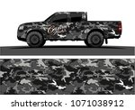 modern camouflage design for... | Shutterstock .eps vector #1071038912