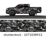 modern camouflage design for...   Shutterstock .eps vector #1071038912