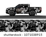 modern camouflage design for... | Shutterstock .eps vector #1071038915