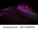 led wall background overlay | Shutterstock . vector #1071048902
