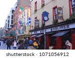 dublin  ireland   march 28 ... | Shutterstock . vector #1071056912