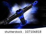 digital illustration of shock... | Shutterstock . vector #107106818
