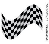 race flag vector   Shutterstock .eps vector #1071089702