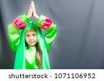 Beautiful Girl In Green Hijab...