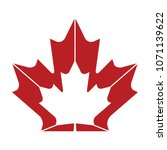 a unqiue maple leaf design in... | Shutterstock .eps vector #1071139622
