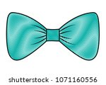 bow ribbon isolated icon | Shutterstock .eps vector #1071160556