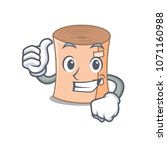thumbs up medical gauze... | Shutterstock .eps vector #1071160988