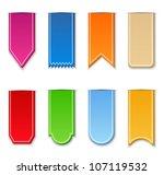 ribbons   Shutterstock . vector #107119532