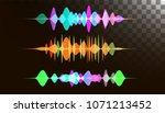 audio digital equalizer... | Shutterstock .eps vector #1071213452