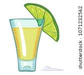 vector cartoon illustration  ... | Shutterstock .eps vector #1071232562