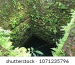 an ancient well with a stone... | Shutterstock . vector #1071235796