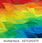 abstract vector color... | Shutterstock .eps vector #1071242375