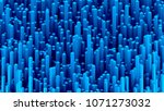 many abstract rectangular... | Shutterstock . vector #1071273032