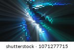 shining bright mosaic with many ... | Shutterstock . vector #1071277715