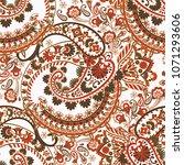 paisley seamless vector pattern   Shutterstock .eps vector #1071293606