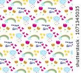 cute pattern background   Shutterstock .eps vector #1071345035