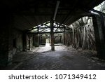 abandoned unoccupied house | Shutterstock . vector #1071349412