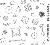 science  math  astronautic... | Shutterstock .eps vector #1071352352