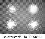 set. shining star  the sun...   Shutterstock .eps vector #1071353036