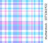 seamless pattern. checkered... | Shutterstock . vector #1071361922