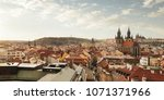aerial  panoramic view of... | Shutterstock . vector #1071371966