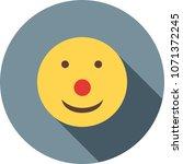 clown  happy  smiling | Shutterstock .eps vector #1071372245