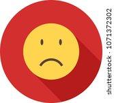 sadness  sad face | Shutterstock .eps vector #1071372302