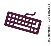 keyboard icon design | Shutterstock .eps vector #1071382685