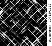 Stock photo striped grunge plaid halftone black and white seamless texture background abstract geometric 1071391112