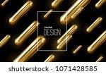 modern trendy cover design.... | Shutterstock .eps vector #1071428585