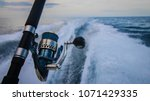 rod on back of boat | Shutterstock . vector #1071429335