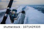 Rod on back of boat