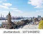 high angle view of st. pauli... | Shutterstock . vector #1071443852