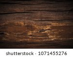 close up soft wood table floor... | Shutterstock . vector #1071455276