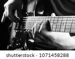 Music Concept. Guitar Acoustic...
