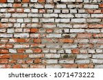 old grunge brick wall background | Shutterstock . vector #1071473222