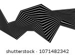 black and white stripe line... | Shutterstock .eps vector #1071482342