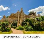 les orgues  ille sur tet  france   Shutterstock . vector #1071502298