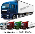 Detailed Vector Truck