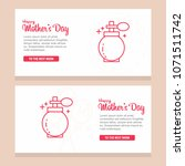happy mother day  holiday...   Shutterstock .eps vector #1071511742