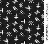 seamless monochrome pattern... | Shutterstock .eps vector #1071540116