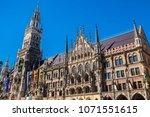 famous tourist attraction place ...   Shutterstock . vector #1071551615
