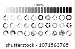 set loading icons. load. load... | Shutterstock .eps vector #1071563765