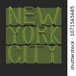 neon slogan. 3d line... | Shutterstock .eps vector #1071565685