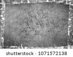 grunge black and white abstract ... | Shutterstock . vector #1071572138