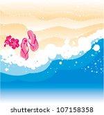 beach   Shutterstock .eps vector #107158358