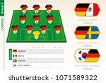 germany football team... | Shutterstock .eps vector #1071589322