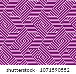 pattern with bold lines and... | Shutterstock .eps vector #1071590552